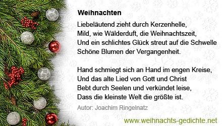 Besinnliche Gedichte Zu Weihnachten.Besinnliche Weihnachtsgedichte